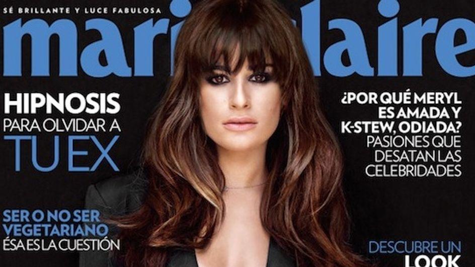 Lea Michele : Sexy en Une de Marie Claire (photo)