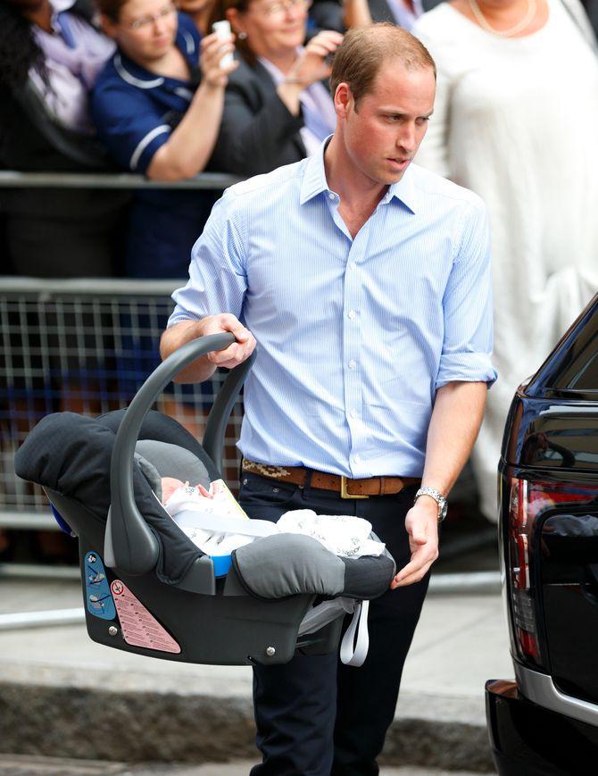 Le prince William et le royal baby