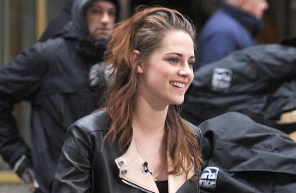 Has Kristen Stewart found a bad boy to replace Robert Pattinson?