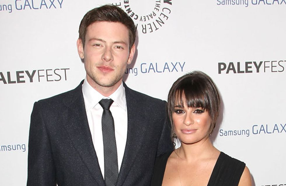 Lea Michele gushes about Cory Monteith in heartbreaking interview before his death