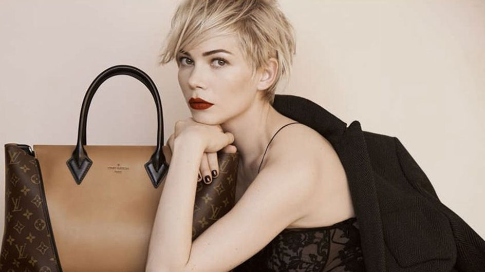 Michelle Williams vamps it up as the new face of Louis Vuitton