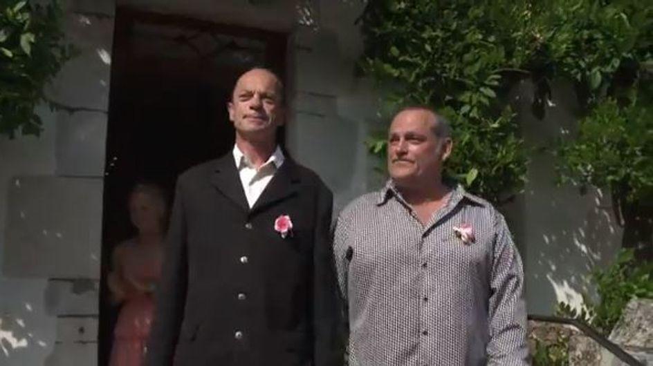 Arcangues : Le couple gay s'est enfin marié