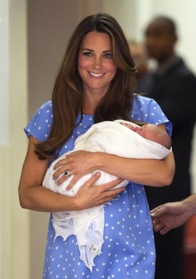 Kate Middleton et son bébé