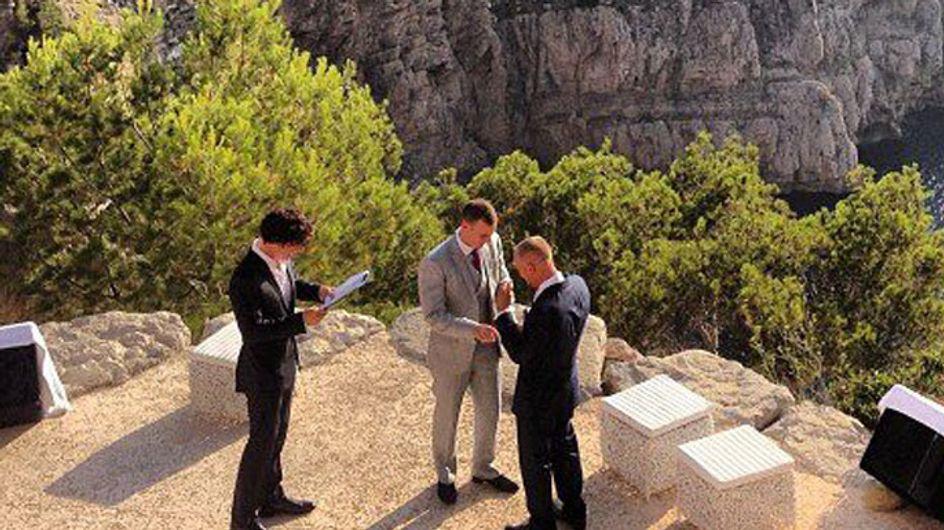 PHOTOS: Benedict Cumberbatch marries friends in Ibiza