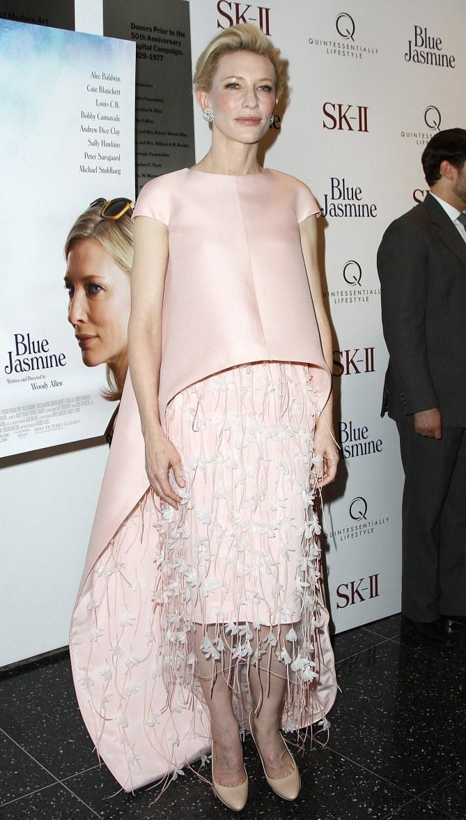 Cate Blanchett en total look Balenciaga