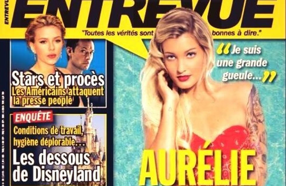 Aurélie (Les Anges 5) : Sexy en bikini rouge pour Entrevue (photo)