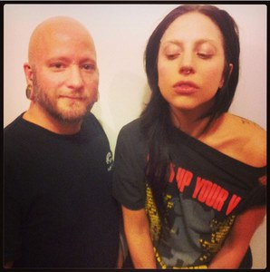 Lady Gaga et son pierceur