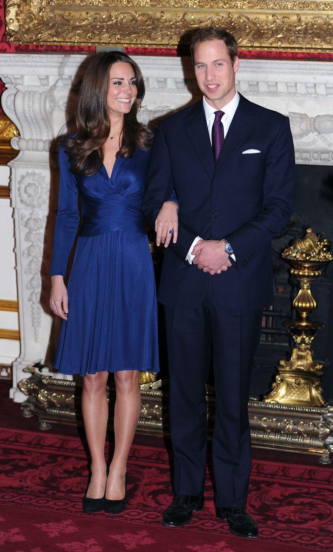 Herzogin Kate & Prinz William bei ihrer Verlobung