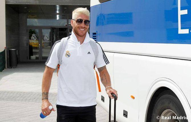 Sergio Ramos con nuevo cambio de look