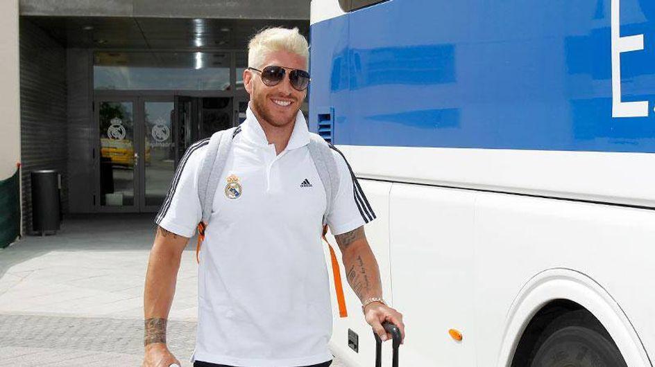 Los looks de Sergio Ramos. Ahora, ¡platino!