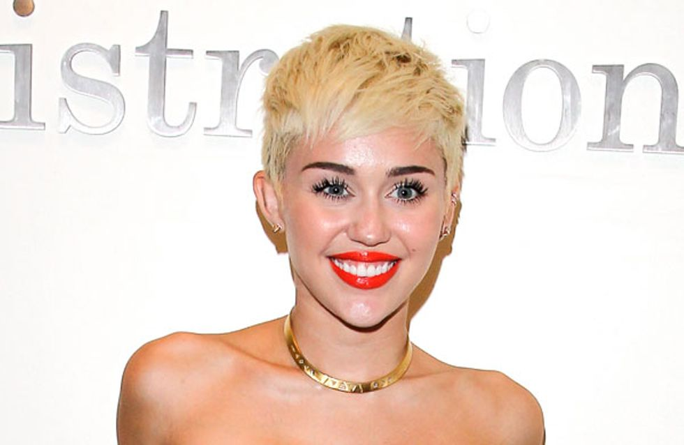 Miley Cyrus strips off for Marc Jacobs