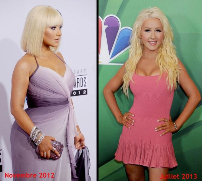 L'impressionante perte de poids de Christina