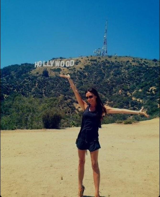 Victoria Beckham en Californie