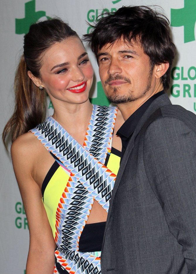 Miranda Kerr et son mari Orlando Bloom