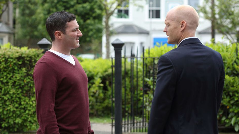 EastEnders 05/08 - Max and Carl fight over Kirsty