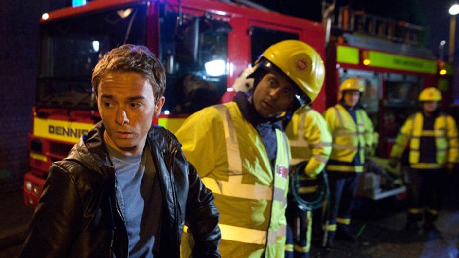 Coronation Street 07/08 - David begs Nick not to die