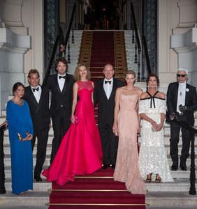 Charlène de Monaco au côté de son mari, le prince Albert