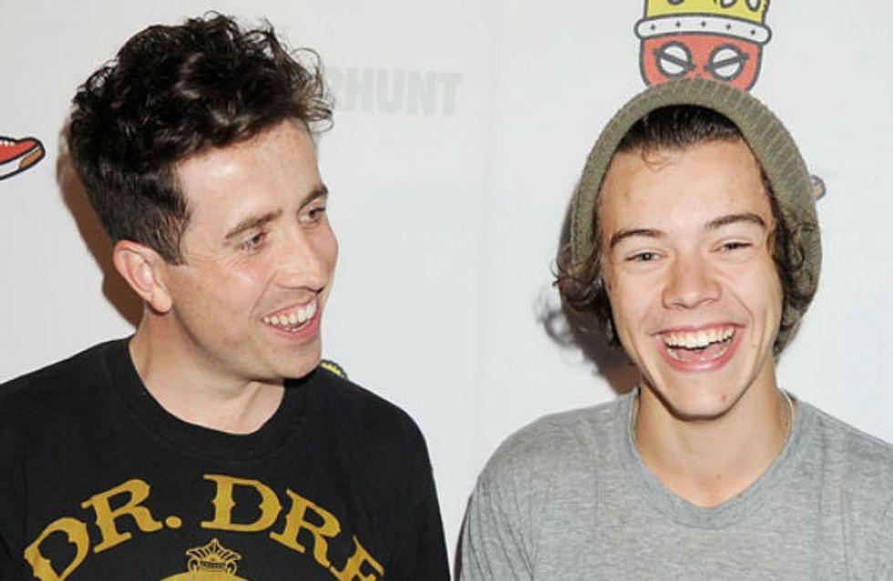 Harry Styles dating Nick Grimshaw?! 1D singer denies gay rumours