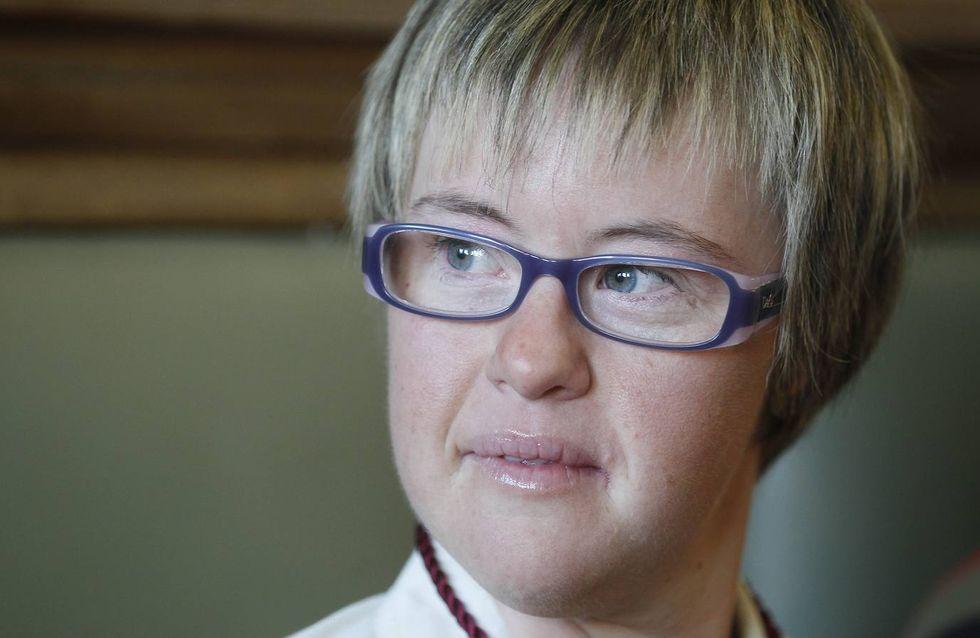 Ángela Bachiller, primera concejala con síndrome de down