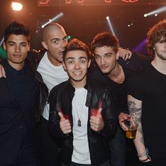 Police called after The Wanted are accused of throwing champagne off their balcony
