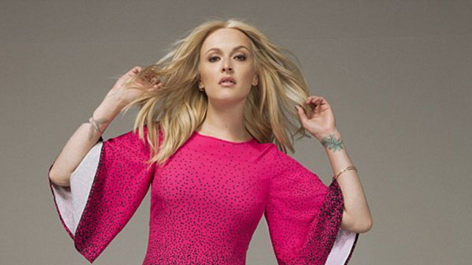 Fearne Cotton models her new range for Very.co.uk
