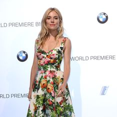 Sienna Miller : Coup de fatigue sur le tapis rouge (Photos)