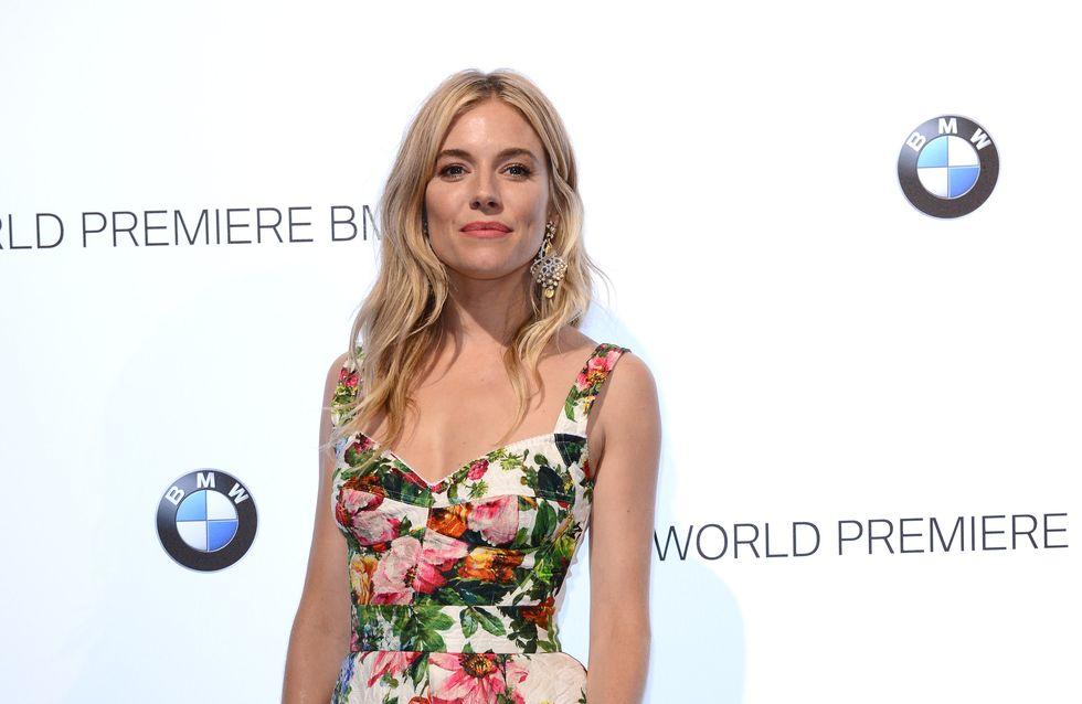 Sienna Miller : Coup de fatigue sur le tapis rouge (Photos)