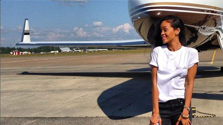 Rihanna : La simplicité lui va si bien... (Photos)