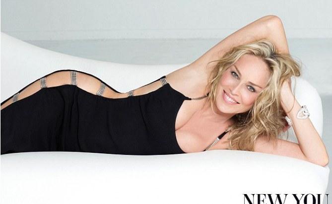 Sharon Stone pour New You Magazine
