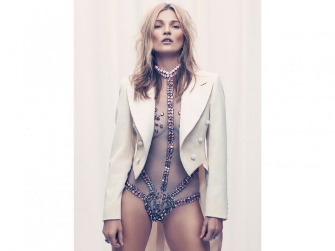 Kate Moss pour Esquire