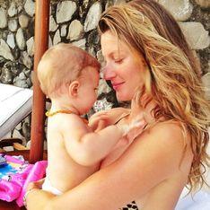 Gisele Bündchen : Pause tendresse avec sa petite Vivian (photo)