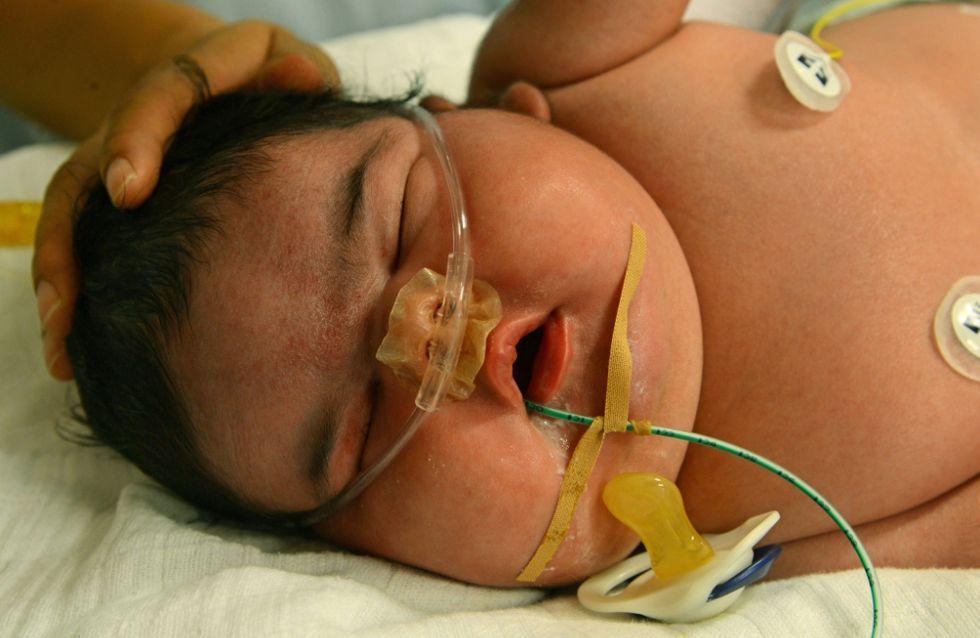 Allemagne : Un bébé de 6.11kg naît par voie basse