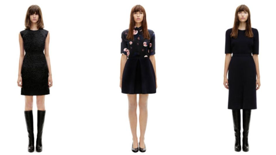 Victoria Beckham launches new AW13 collection online