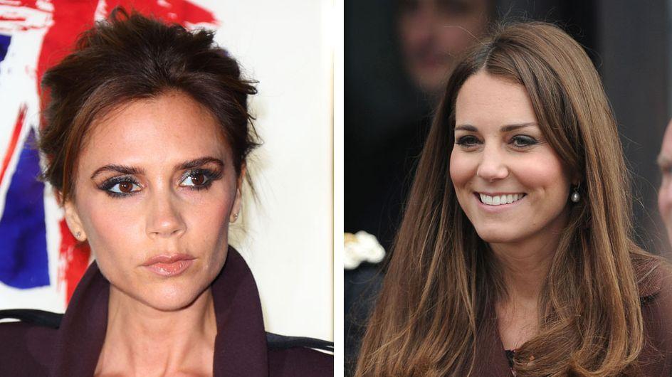 Kate Middleton : Victoria Beckham lui donne des conseils pour son bébé