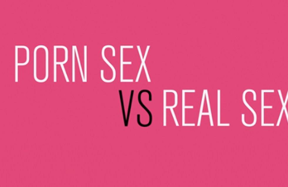 Porn Sex vs. Real Sex: Sex Myths Busted