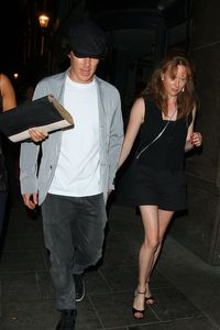 Benedict Cumberbatch and a mystery lady