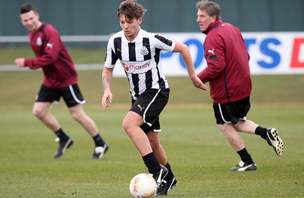 Louis Tomlinson sparks One Direction split rumours as he's signed by Doncaster Rovers