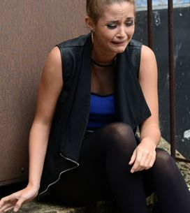 EastEnders 13/08 - Whitney tells Lauren about her night with Joey