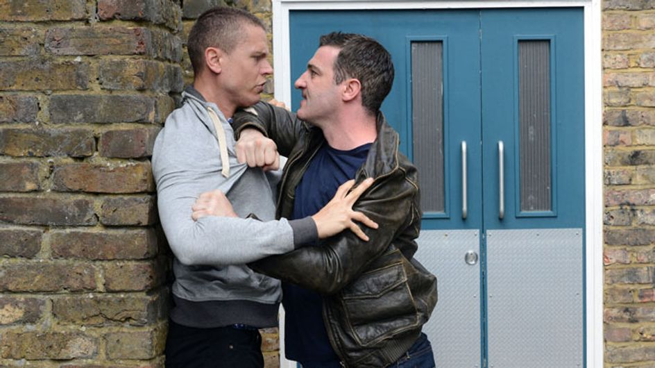 EastEnders 15/08 - Carl's brother attacks Kirsty