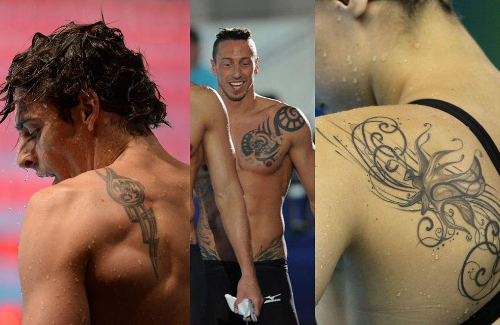 Nageurs et nageuses : Zoom sur leurs tatouages (Photos)