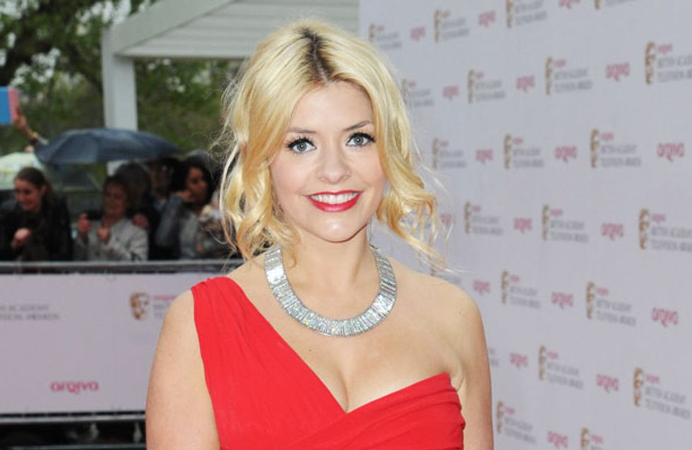 """Holly Willoughby addresses cleavage complaints: """"They're just boobs"""""""
