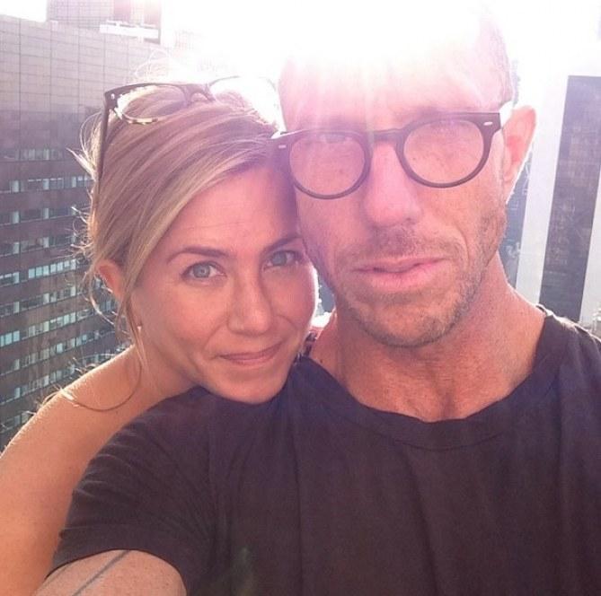 Jennifer Aniston sans maquillage