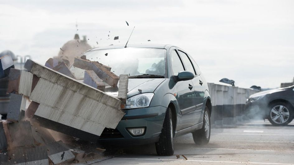 Hollyoaks 15/08 -Nancy ends up in a rooftop car crash
