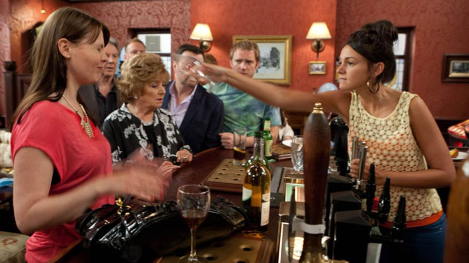 Coronation Street 12/08 - Tina finally breaks at Jake's homecoming