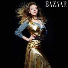 Scarlett Johansson et Lily Collins : Cheveux au vent pour Harper's Bazaar