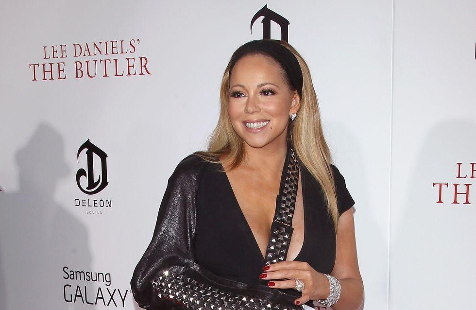 Mariah Carey : L'atèle, son nouvel accessoire mode