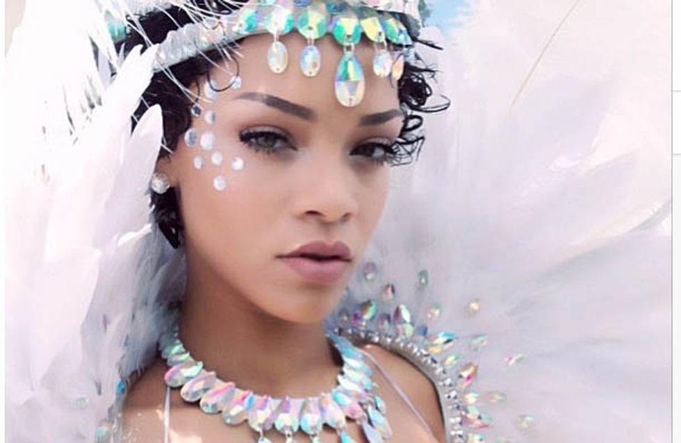 Rihanna : Toujours aussi provocante au carnaval de La Barbade (photos)