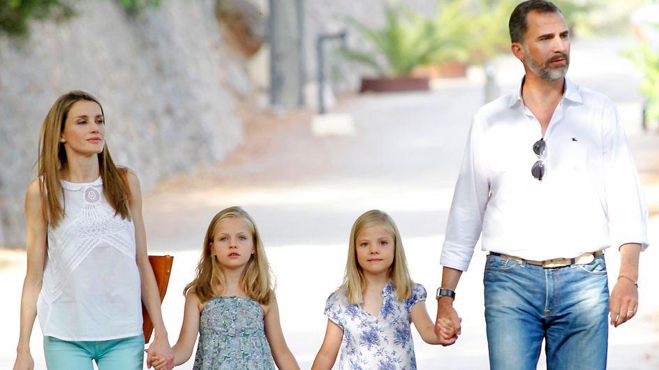 Y, por fin, los Príncipes posaron en Mallorca