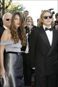 Andrea Casiraghi y Tatiana Santos