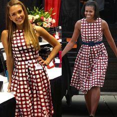 Michelle Obama vs Jessica Alba : Qui porte le mieux la robe Asos ? (Photos)